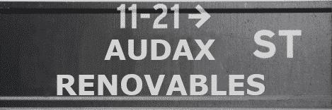 AUDAX RENOVABLES