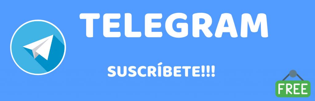 Suscribete Telegram